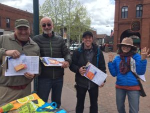 Flagstaff Needs a raise campaign supporters after the press conference
